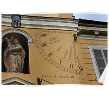 What Time is it in Tobolsk? Parma, Italy 2009 Poster