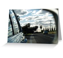 ruralscapes #7, highway Greeting Card
