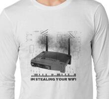 Wifi Thief Long Sleeve T-Shirt