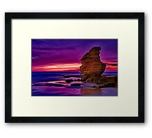 """Daybreak at Castle Rock"" Framed Print"