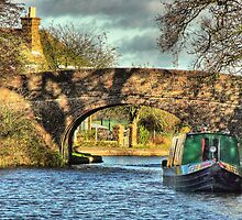 Shaddows On The Bridge - Norton Junction by SimplyScene