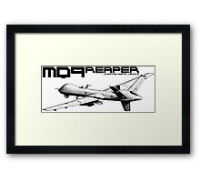 MQ-9 Reaper Framed Print