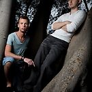 Two guys in a tree by Ben Ryan