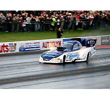 Top Fuel Dragster Photographic Print