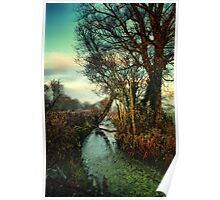 Meander Slowly Poster