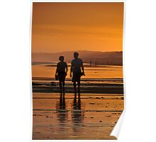Come Walk With Me - Redhead Beach NSW Poster