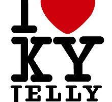 I heart KY jelly by Simon Breese
