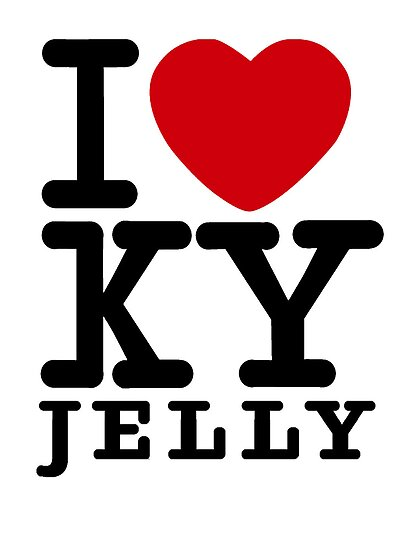 I heart KY jelly by Simon Breese