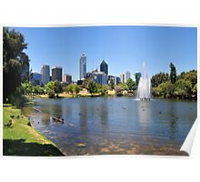 My Beautiful City Perth Poster