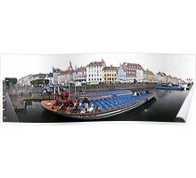 Long Boat to Copenhagen Poster