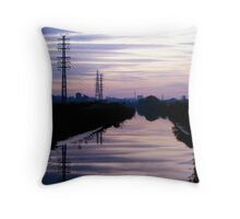 Serenity in Purple Throw Pillow