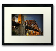 Golden Gateway - Sydney, Australia Framed Print