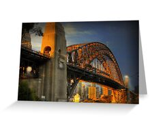 Golden Gateway - Sydney, Australia Greeting Card