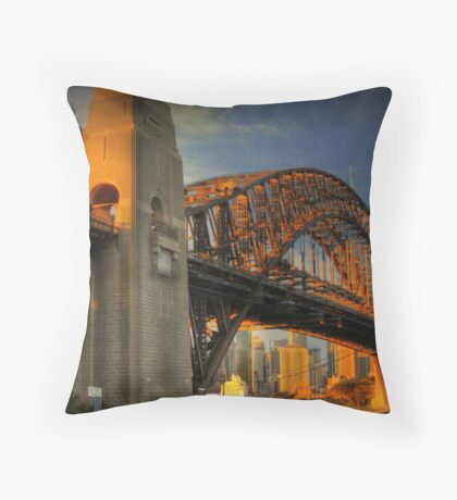 Golden Gateway - Sydney, Australia Throw Pillow