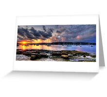 Adventures In Paradise - Paradise Beach , Sydney - The HDR Experience Greeting Card
