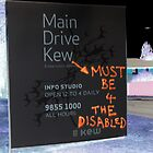 Main Drive Sign, Kew Cottages by 4Kew