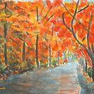 Golden October by Caroline  Lembke