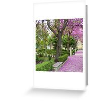 Ragusa in the spring time Greeting Card