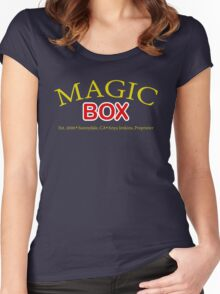 Magic Box - Buffy, The Vampire Slayer Women's Fitted Scoop T-Shirt