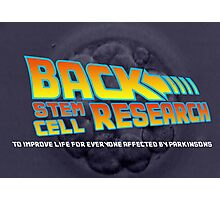 back stem cell research Photographic Print