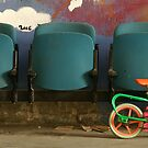 Abandoned bike by Etienne RUGGERI Artwork eRAW