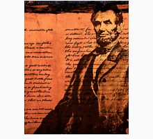 Abraham Lincoln and the Gettysburg Address Unisex T-Shirt