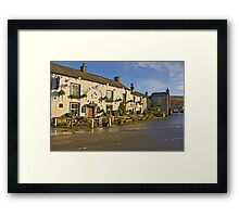 Blue Bell Inn -Kettlewell Framed Print