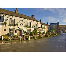 Blue Bell Inn -Kettlewell Photographic Print