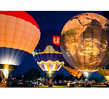 Balloon Glowing Photographic Print