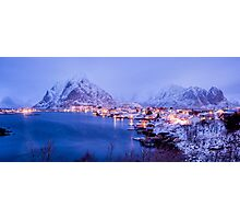 Reine in Royal Blue Photographic Print