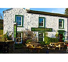 Racehorses Hotel - Kettlewell Photographic Print