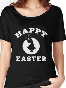 Happy Easter Featuring The New Easter Bunny Women's Relaxed Fit T-Shirt