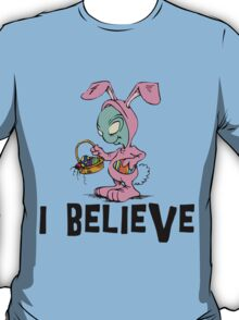"Funny Easter ""I Beleive"" T-Shirt"