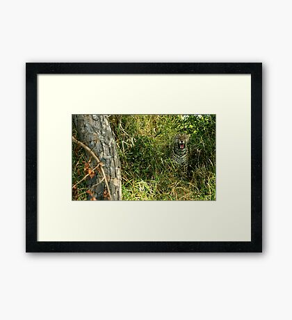listen!  rustle and snarl - Karula Framed Print