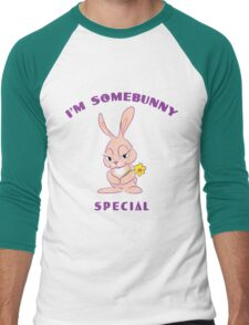 "Easter ""I'm Somebunny Special"" Men's Baseball ¾ T-Shirt"