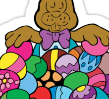 """Easter """"Make Mine A Chocolate Easter Please"""" Sticker"""