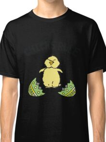 Easter Chicks Rule Classic T-Shirt