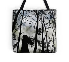 Dark Walk Tote Bag