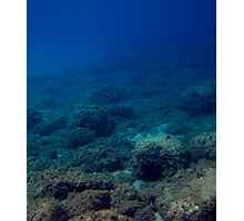 Ocean Seabed Photographic Print