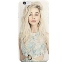 Emilia Clarke, Blonde iPhone Case/Skin