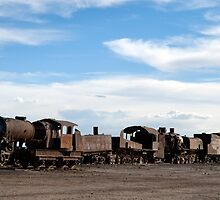 Train Graveyard - Bolivia by lgraham