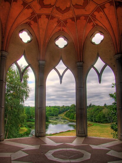 The White Tower - Painshill Park - HDR by Colin J Williams Photography