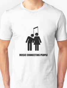 music connecting T-Shirt