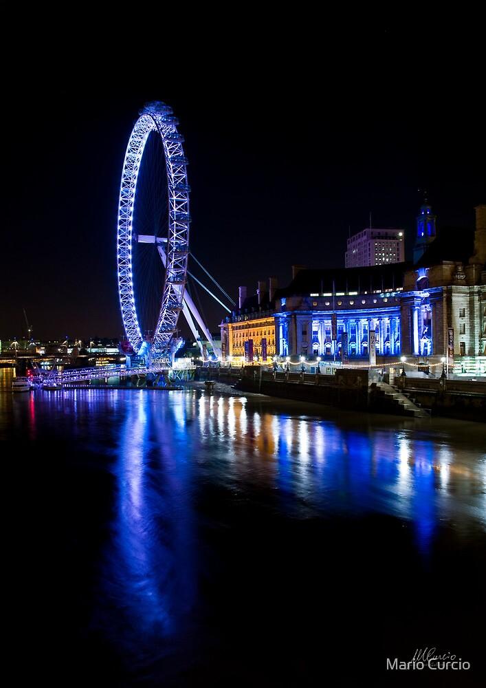 The London eye by Mario Curcio