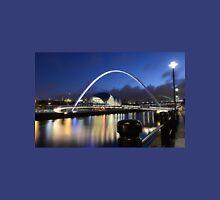 Newcastle Upon Tyne's Quayside at night Unisex T-Shirt