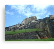 The Old Fort in San Juan Canvas Print