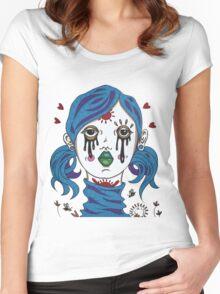 Healing Angel t-shirt Women's Fitted Scoop T-Shirt