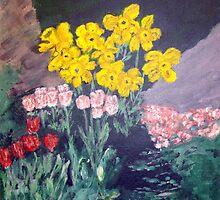 Backyard Flowers by Phil Davis by CoastalCarolina