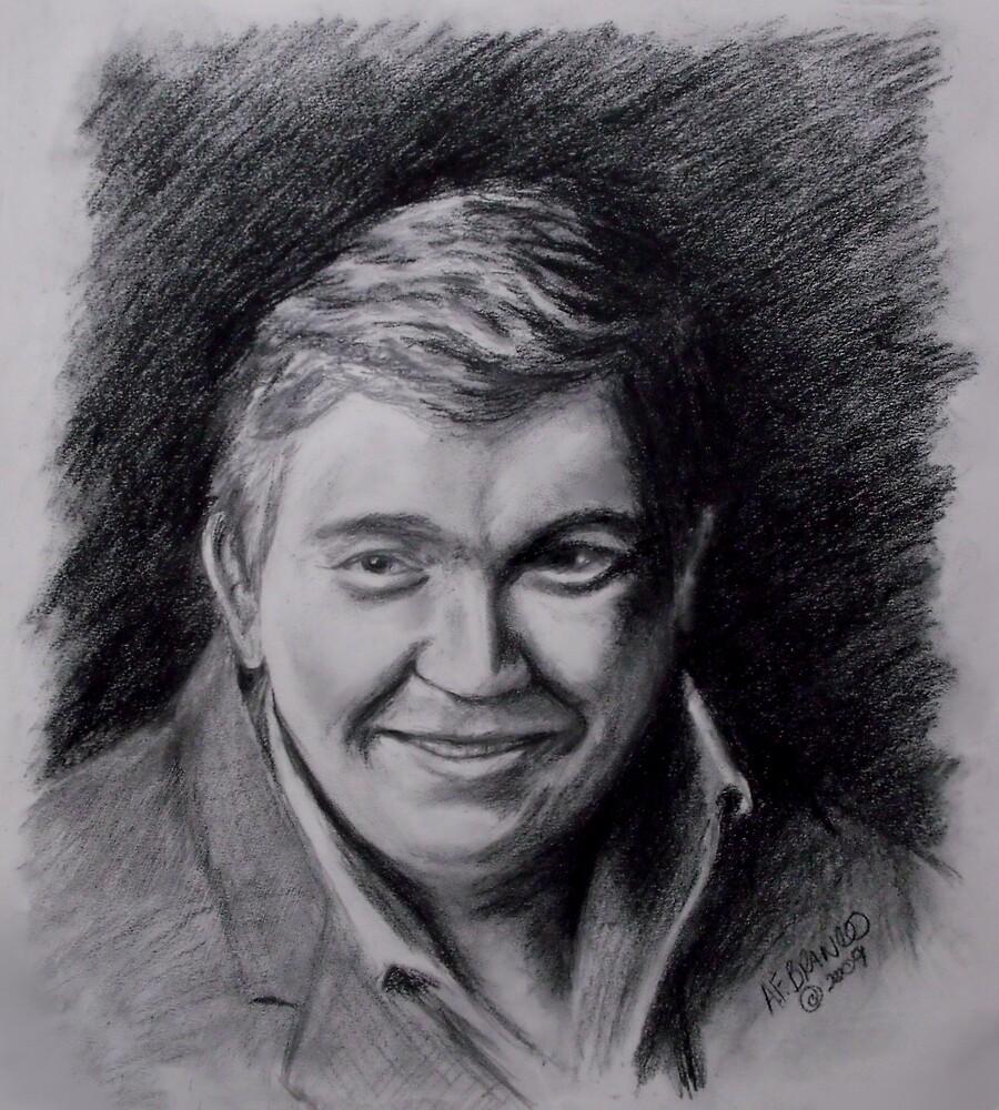 John Candy Drawing by A. F. Branco