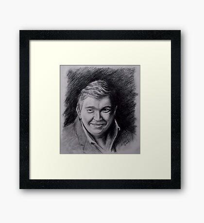 John Candy Drawing Framed Print